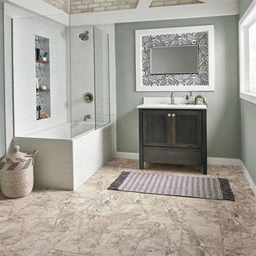 Coronis Marble Engineered Tile - Morning Dove